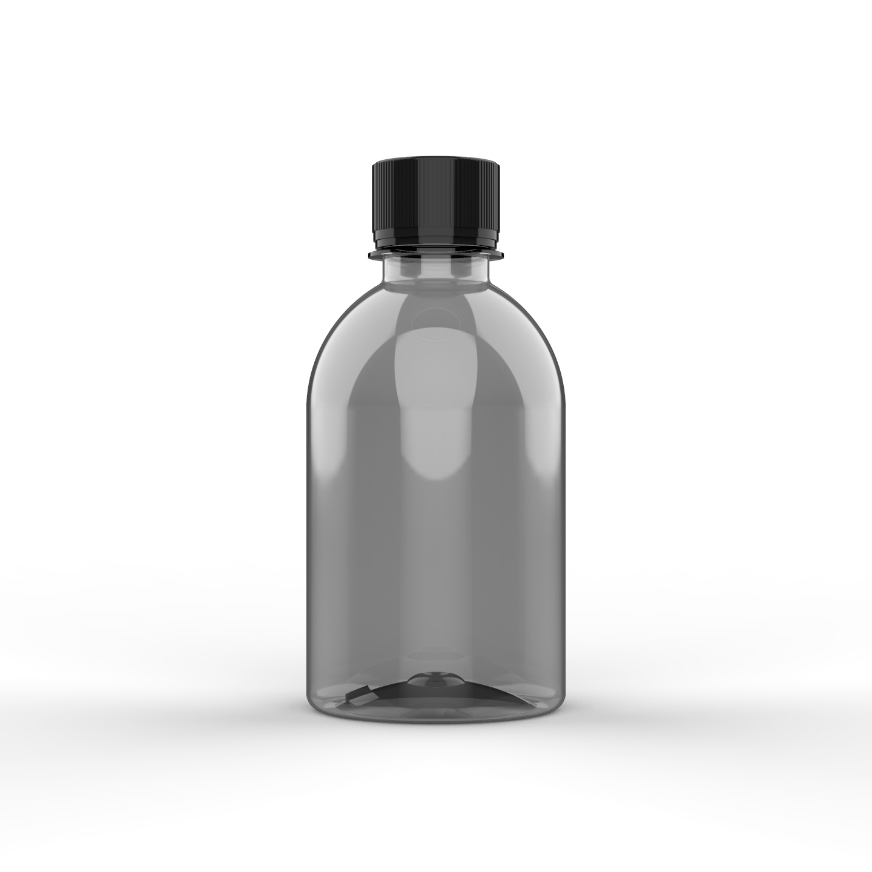 EMABALAGEM PET CRISTAL PARA HIGIENE PESSOAL 250 ml